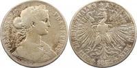 Taler 1862 Frankfurt-Stadt  Henkelspur, schön  25,00 EUR  zzgl. 4,00 EUR Versand