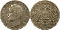 5 Mark 1891  D Bayern Otto 1886-1913. Randfehler, sehr schön  38,00 EUR  + 4,00 EUR frais d'envoi