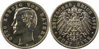 5 Mark 1899  D Bayern Otto 1886-1913. Stark poliert, sehr schön  32,00 EUR  + 4,00 EUR frais d'envoi