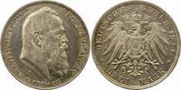 3 Mark 1911  D Bayern Luitpold. Fast Stempelglanz  38,00 EUR  + 4,00 EUR frais d'envoi