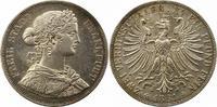 Doppeltaler 1861 Frankfurt-Stadt  Winz. Kratzer, vorzüglich +  185,00 EUR  + 4,00 EUR frais d'envoi