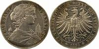 Taler 1858 Frankfurt-Stadt  Schöne Patina. Winz. Randfehler, sehr schön  95,00 EUR  zzgl. 4,00 EUR Versand