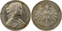 Taler 1860 Frankfurt-Stadt  Sehr schön +  65,00 EUR  zzgl. 4,00 EUR Versand