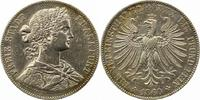 Taler 1860 Frankfurt-Stadt  Sehr schön +  65,00 EUR  + 4,00 EUR frais d'envoi