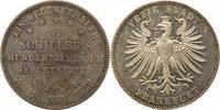 Taler 1859 Frankfurt-Stadt  Winz. Kratzer, vorzüglich +  110,00 EUR  zzgl. 4,00 EUR Versand