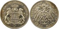3 Mark 1912  J Hamburg  Sehr schön +  21.74 US$ 19,00 EUR  +  4.58 US$ shipping