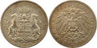 5 Mark 1891  J Hamburg  Sehr schön  52,00 EUR  + 4,00 EUR frais d'envoi