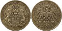 5 Mark 1895  J Hamburg  Sehr schön  42,00 EUR  + 4,00 EUR frais d'envoi