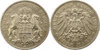 5 Mark 1907  J Hamburg  Sehr schön  33,00 EUR  + 4,00 EUR frais d'envoi