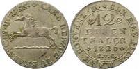 1/12 Taler 1826 Braunschweig-Wolfenbüttel Karl 1815-1830. Sehr schön  22,00 EUR  + 4,00 EUR frais d'envoi