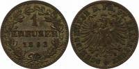 Kreuzer 1862 Frankfurt-Stadt  Sehr schön  8,00 EUR  + 4,00 EUR frais d'envoi