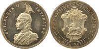 Rupie 1890 Deutsch Ostafrika  Erstabschlag. Haarlinien, fast Stempelglanz  280.30 US$ 245,00 EUR  +  4.58 US$ shipping
