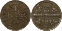 Kopeke 1916  A Oberbefehlshaber Ost  Sehr schön  11.44 US$ 10,00 EUR  +  4.58 US$ shipping