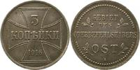 3 Kopeken 1916  A Oberbefehlshaber Ost  Vorzüglich +  40.04 US$ 35,00 EUR  +  4.58 US$ shipping