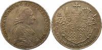 Taler 1783 Eichstätt, Bistum Johann Anton Freiherr v. Zehmen 1781-1790.... 295,00 EUR envoi gratuit