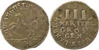 3 Mariengroschen 1684 Braunschweig-Wolfenbüttel Rudolf August 1666-1685... 125.85 US$ 110,00 EUR  +  4.58 US$ shipping