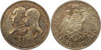 3 Mark 1915  A Mecklenburg-Schwerin Friedrich Franz IV. 1897-1918. Schö... 223.10 US$ 195,00 EUR  +  4.58 US$ shipping