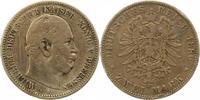 2 Mark 1880  A Preußen Wilhelm I. 1861-1888. Kratzer, schön  32,00 EUR  zzgl. 4,00 EUR Versand