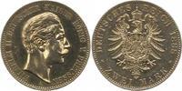 2 Mark 1888  A Preußen Wilhelm II. 1888-1918. Minimal berieben, vorzügl... 395,00 EUR kostenloser Versand