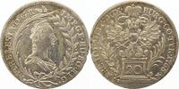 20 Kreuzer 1765 Haus Habsburg Maria Theresia 1740-1780. Gereinigt, winz... 25,00 EUR  zzgl. 4,00 EUR Versand