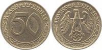 50 Reichspfennig 1938  A Drittes Reich  Sehr schön  32,00 EUR  zzgl. 4,00 EUR Versand