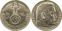 5 Mark 1939  J Drittes Reich  Sehr schön - vorzüglich  16,00 EUR  +  4,00 EUR shipping
