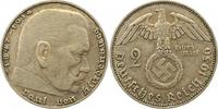 2 Mark 1936  J Drittes Reich  Sehr schön  85,00 EUR  +  4,00 EUR shipping