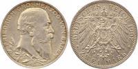 2 Mark 1902 Baden Friedrich I. 1856-1907. Winz. Kratzer, vorzüglich  25,00 EUR  +  4,00 EUR shipping