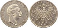 2 Mark 1906  A Preußen Wilhelm II. 1888-1918. Randfehler, vorzüglich +  20,00 EUR  +  4,00 EUR shipping