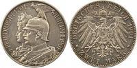 2 Mark 1901 Preußen Wilhelm II. 1888-1918. Winz. Kratzer, sehr schön +  14,00 EUR  +  4,00 EUR shipping