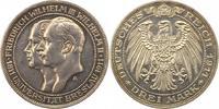 3 Mark 1911  A Preußen Wilhelm II. 1888-1918. Vorzüglich  45,00 EUR  +  4,00 EUR shipping