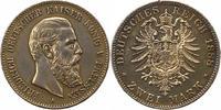 2 Mark 1888  A Preußen Friedrich III. 1888. Randfehler, Kratzer, sehr s... 55,00 EUR  +  4,00 EUR shipping