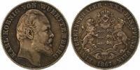 Taler 1867 Württemberg Karl 1864-1891. Sehr schön  100,00 EUR  +  4,00 EUR shipping