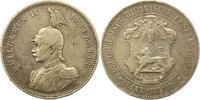 Rupie 1898 Deutsch Ostafrika  Winz. Randfehler, Kratzer, fast sehr schön  55,00 EUR  +  4,00 EUR shipping