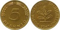 5 Pfennig 1967  G Münzen der Bundesrepublik Deutschland Mark 1945-2001.... 9,00 EUR  +  4,00 EUR shipping