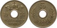 5 Heller 1914  J Deutsch Ostafrika  Vorzüglich  56.06 US$ 50,00 EUR  +  4.48 US$ shipping