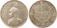 Rupie 1911  J Deutsch Ostafrika  Winz. Kratzer, leichte Randfehler, seh... 72.87 US$ 65,00 EUR  +  4.48 US$ shipping