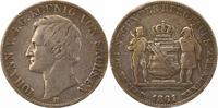 Ausbeutetaler 1861  B Sachsen-Albertinische Linie Johann 1854-1873. Sch... 55,00 EUR  zzgl. 4,00 EUR Versand
