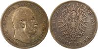 5 Mark 1876  A Preußen Wilhelm I. 1861-1888. Fast sehr schön  30,00 EUR  + 4,00 EUR frais d'envoi