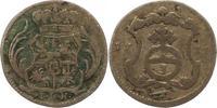 3 Pfennig 1711 Sachsen-Albertinische Linie Friedrich August I. 1694-173... 30,00 EUR  zzgl. 4,00 EUR Versand