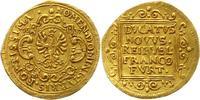 Dukat Gold 1637 Frankfurt-Stadt  Rand minimal befeilt, sehr schön - vor... 498.89 US$ 445,00 EUR free shipping