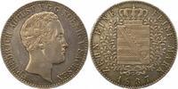 Taler 1837  G Sachsen-Albertinische Linie Friedrich August II. 1836-185... 225,00 EUR  zzgl. 4,00 EUR Versand