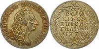 1/3 Taler 1774  A Brandenburg-Preußen Friedrich II. 1740-1786. Schöne P... 225,00 EUR  + 4,00 EUR frais d'envoi