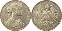 Taler 1860 Frankfurt-Stadt  Winz. Randfehler, vorzüglich  75,00 EUR  + 4,00 EUR frais d'envoi