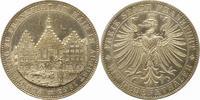 Taler 1863 Frankfurt-Stadt  Vorzüglich - Stempelglanz  235,00 EUR  + 4,00 EUR frais d'envoi