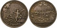 Silbermedaille 1756 Hamburg, Stadt  Schöne Patina. Sehr schön  275,00 EUR kostenloser Versand