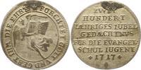 Silberabschlag von den Stempeln des Dukaten 1717 Augsburg-Stadt  Henkel... 12,00 EUR  zzgl. 4,00 EUR Versand