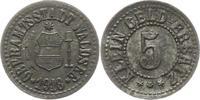 5 Pfennig 1918 Waldsee (Württemberg) Oberamtsstadt  Sehr schön  12,00 EUR  + 4,00 EUR frais d'envoi