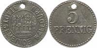 5 Pfennig  Walldürn (Baden), Stadt  Originalloch, sehr schön  12,00 EUR  + 4,00 EUR frais d'envoi
