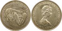 2 1/2 Pfund 1972 Großbritannien-Jersey Elsabeth II. Seit 1952. Polierte... 38,00 EUR  + 4,00 EUR frais d'envoi